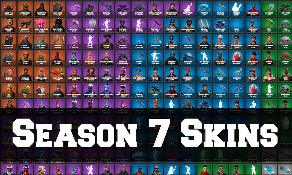 Fortnite Season 7 Skins