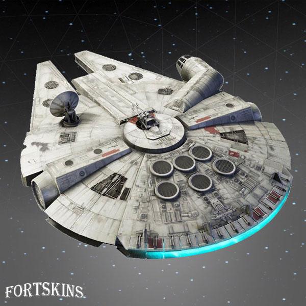 Photo of Millennium Falcon