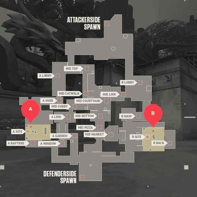 Ascent Valorant Map