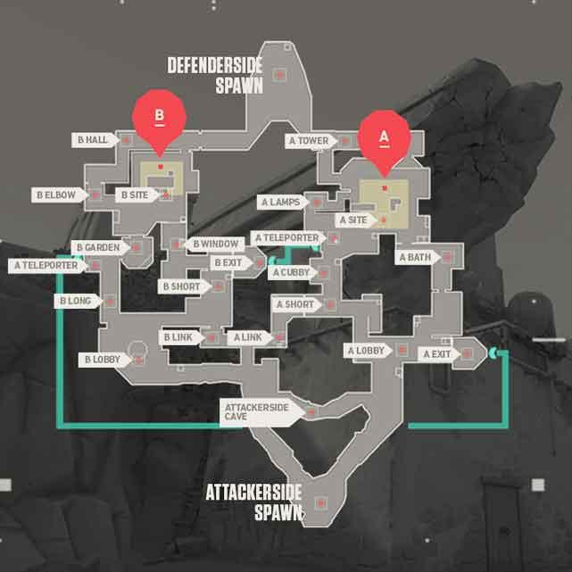 Bind Valorant Map