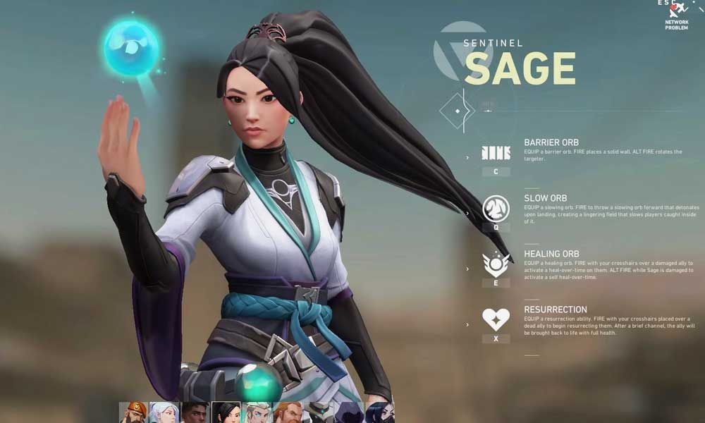 Sage-Valorant-Agent