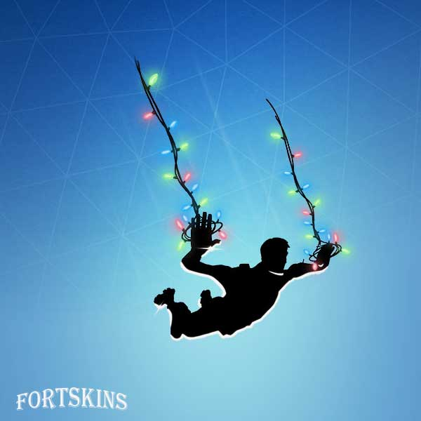 Photo of String Lights Contrail