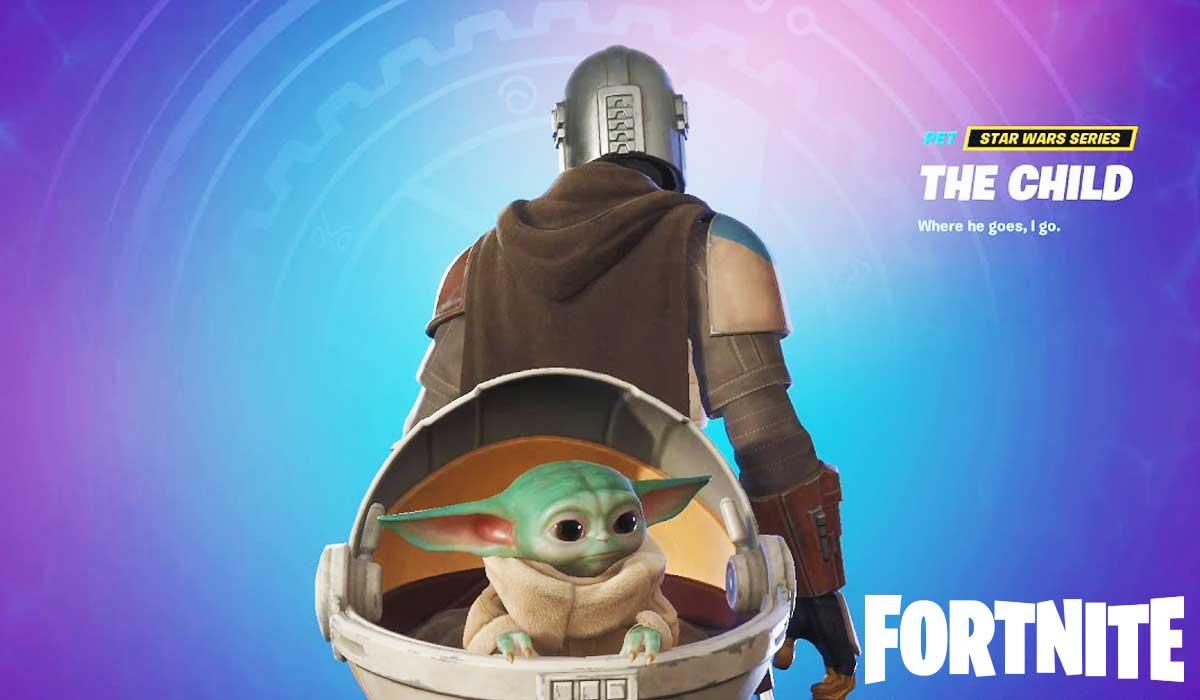 Baby Yoda Back Bling