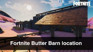 Fortnite-Butter-Barn-location