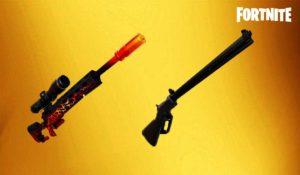 Fortnite Dragon's Breath Sniper and Lever Action Sniper Rifle