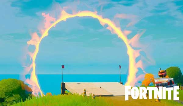 where are the flaming rings in fortnite