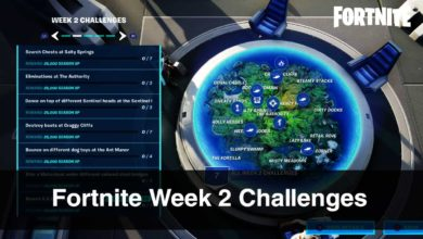 Fortnite Week 2 Challenges