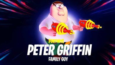 peter griffin fortnite skin