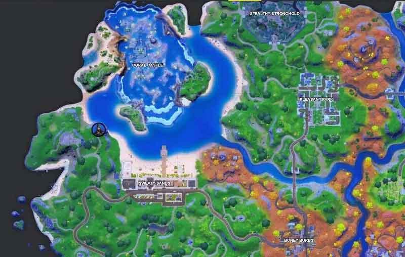 Raven Location in Fortnite